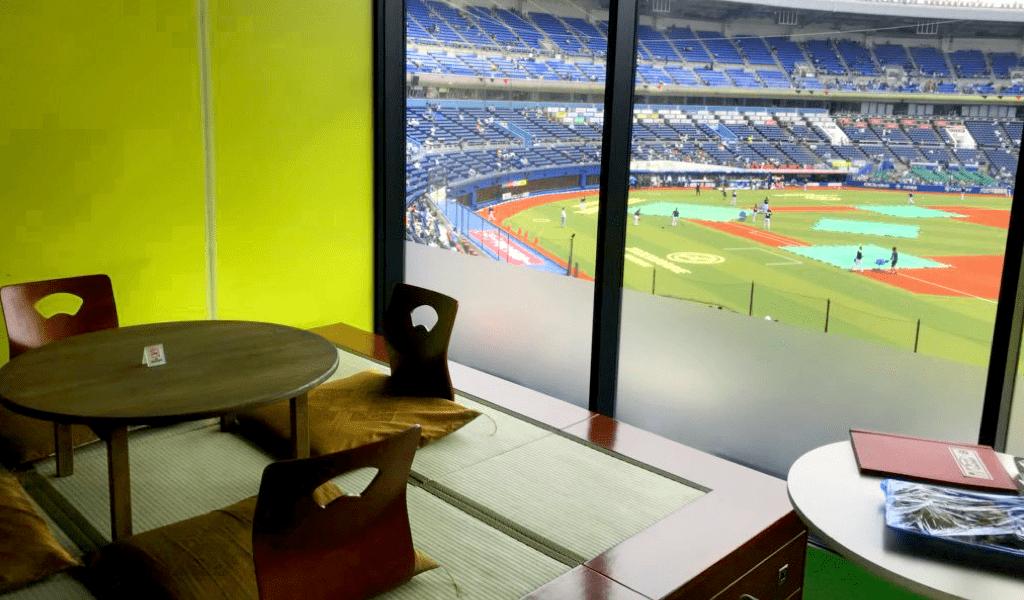 【お座敷ボールパーク】でまったり野球観戦!千葉ロッテのパーティールーム紹介!