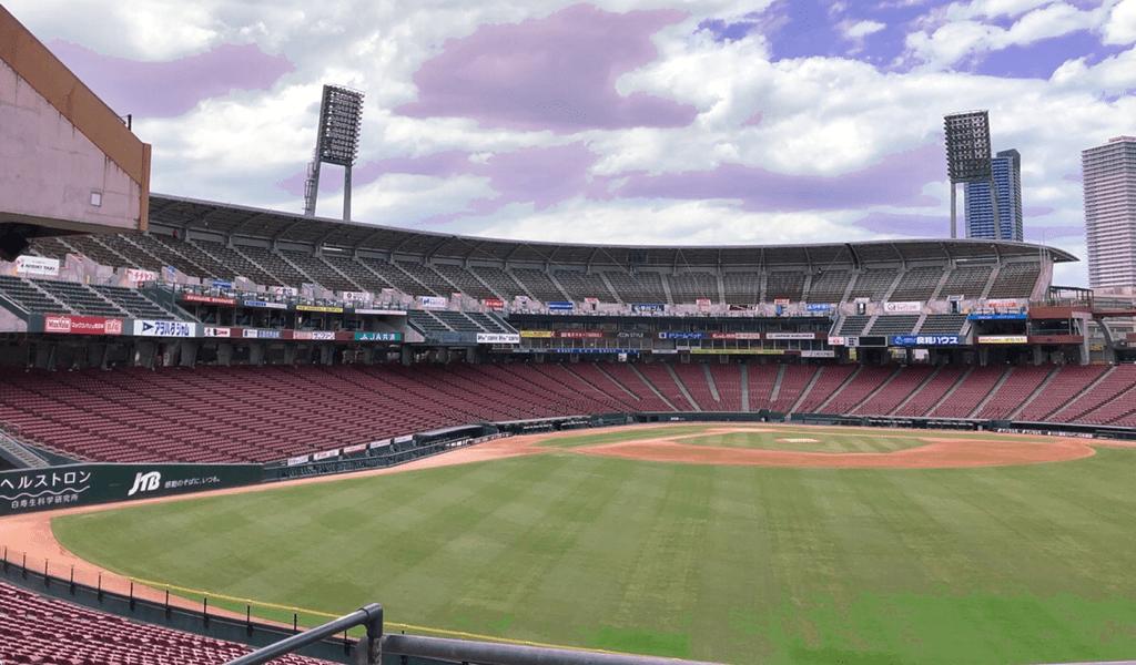 広島カープ「外野指定席」の観戦イメージ
