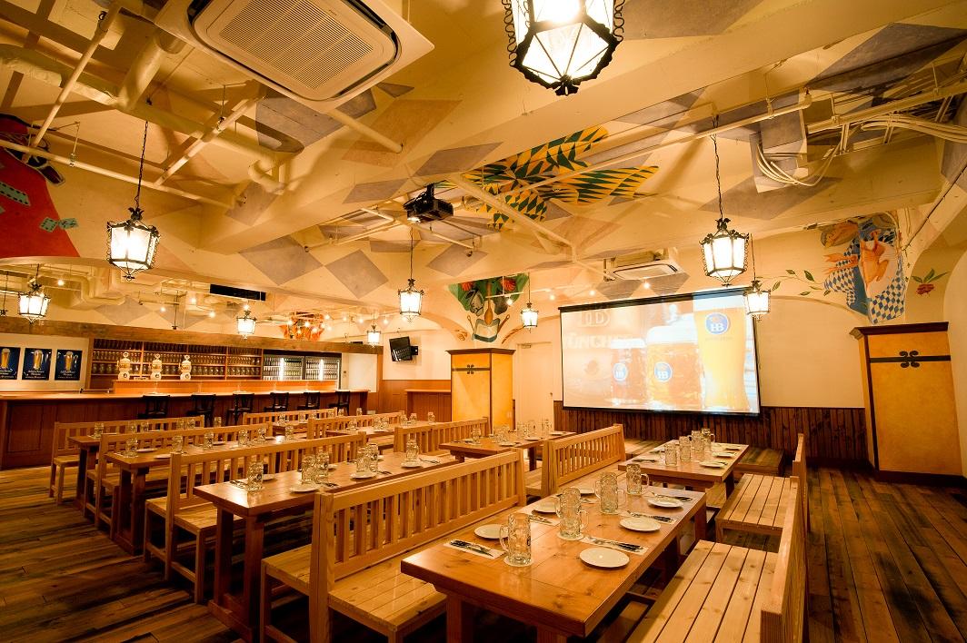 ドイツビール&スポーツバー ツムビアホフ 渋谷