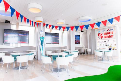 sports cafe bar タリーズコーヒー サンシャイン60展望台店